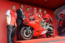Nueva Ducati con Andrea Dovizioso