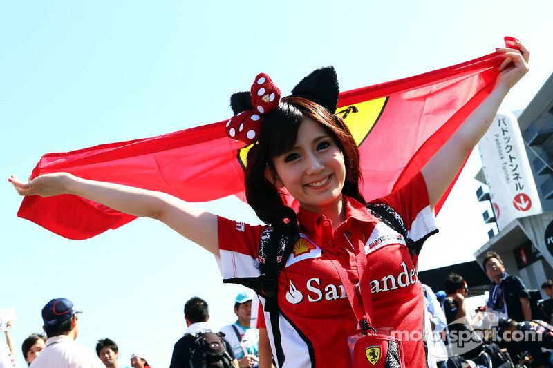 Een Ferrari-fan