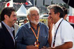 Placido Domingo et Pasquale Lattuneddu (FOM)