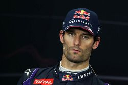 Mark Webber, Red Bull Racing FIA basın toplantısı