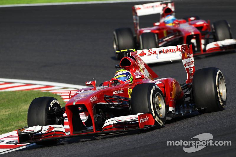 GP do Japão, 2013: Massa não abre para Fernando Alonso
