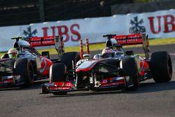 Sergio Perez, McLaren MP4-28 ve Jenson Button, McLaren MP4-28