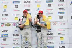 Marc Busch, Dennis Busch, TwinBusch Motorsport, Audi R8 LMS ultra, Overall-winnaars