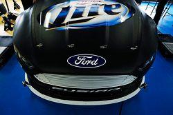 Nieuwe splitter op de Penske Racing Ford