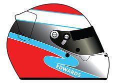 Um adesivo especial de Sean Edwards em todos os competidores da Petit Le Mans