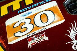 Detalhe do #30 NGT Motorsport Porsche 911 GT3 Cup