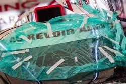 Au revoir ALMS': mensagem no #0 DeltaWing Racing Cars DeltaWing DWC13 Elan