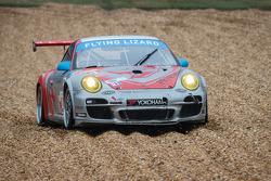 #44 Flying Lizard Motorsports Porsche 911 GT3 Cup: Seth Neiman, Dion von Moltke, Brett Sandberg in t