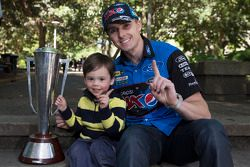 Mark Winterbottom celebrates his Bathurst 1000 victory