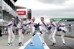 Toyota : Anthony Davidson, Sébastien Buemi, Stéphane Sarrazin, Alexander Wurz, Nicolas Lapierre, Kazuki Nakajima
