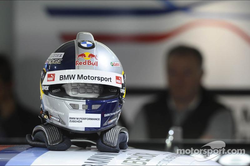 Helm von Martin Tomczyk, BMW Team RMG
