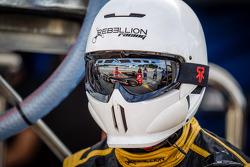 #12 Rebellion Racing Lola B12/60 Toyota reflection