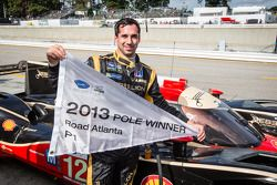 Pole winner Neel Jani