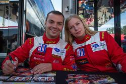 Nicolas Armindo and Christina Nielsen