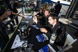 Nicolas Prost, Nick Heidfeld e Neel Jani