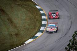 #44 Flying Lizard Motorsports Porsche 911 GT3 Cup: Seth Neiman, Dion von Moltke, Brett Sandberg, #18 Performance Tech Oreca FLM09 Oreca: Charlie Shears, Tristan Nunez