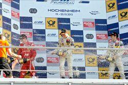 Podium: 1er Felix Rosenqvist, 2e Raffaele Marciello, 3e Sven Muller