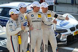 Timo Glock, BMW Team MTEK, Dirk Werner, BMW Team Schnitzer, Bruno Spengler, BMW Team Schnitzer, Andy