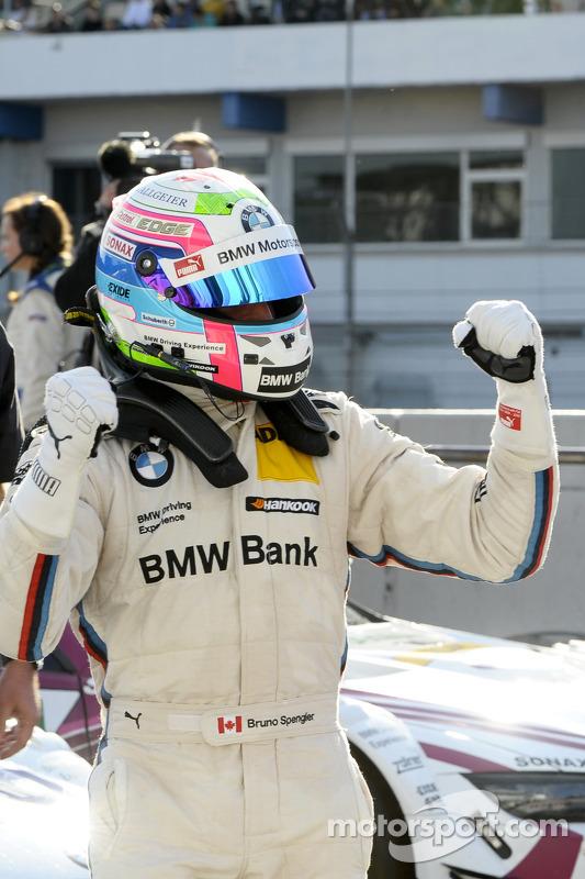 Pole position for Bruno Spengler, BMW Team Schnitzer