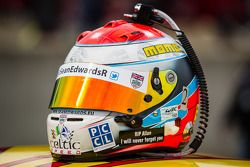 Capacete de Sean Edwards