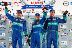 GT podium: class winners Bryan Sellers, Wolf Henzler, Nick Tandy