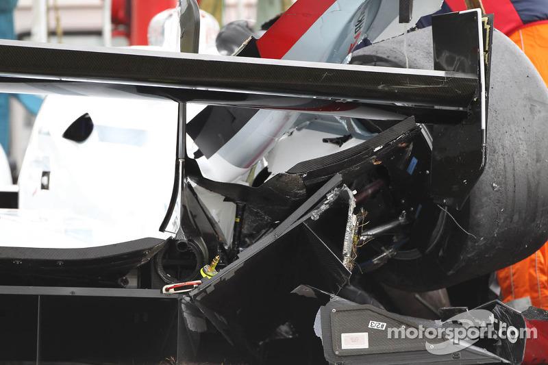 #2 Audi Sport Team Joest Audi R18 e-tron quattro: Tom Kristensen, Allan McNish, Loïc Duval