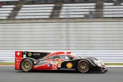 #12 Rebellion Racing Lola B12/60 Coupe - Toyota: Andrea Belicchi, Mathias Beche