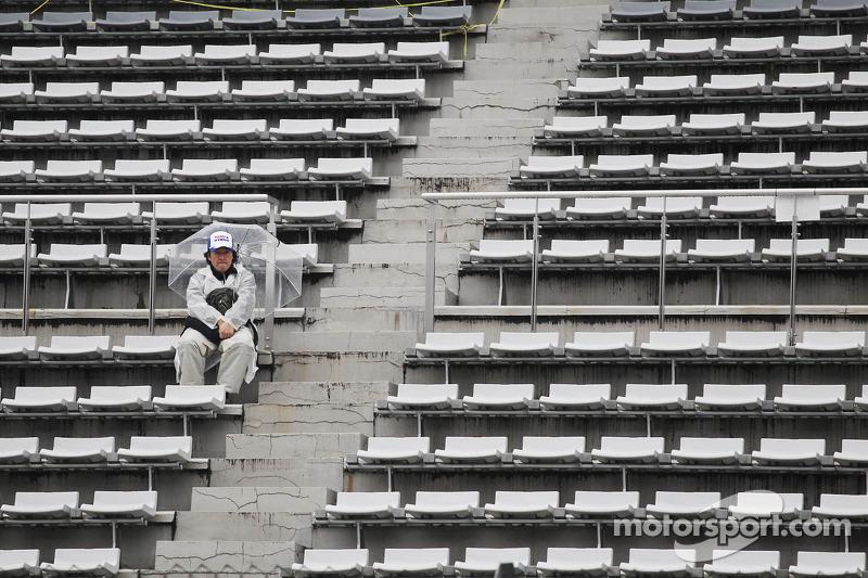 Een eenzame racefan