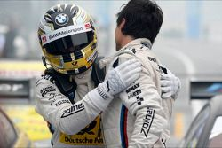 Timo Glock, BMW Team MTEK, and Bruno Spengler, BMW Team Schnitzer