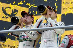 2nd in championship Augusto Farfus, BMW Team RBM, with 3rd Bruno Spengler, BMW Team Schnitzer
