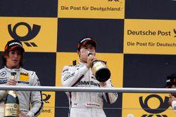 Podium, Bruno Spengler, BMW Team Schnitzer BMW M3 DTM