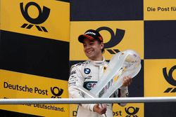 Championship Podium, 2nd Augusto Farfus, BMW Team RBM BMW M3 DTM