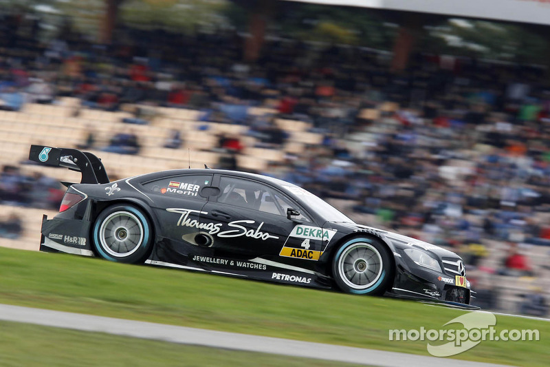 2013: Roberto Merhi, Mercedes-AMG Clase C Coupe, Team HWA DTM
