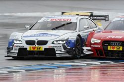 Dirk Werner, BMW Team Schnitzer BMW M3 DTM, battle against Miguel Molina, Audi Sport Team Phoenix Audi RS 5 DTM
