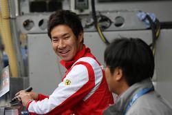 Камуи Кобаяши. Фудзи, субботняя квалификация.