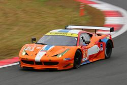 #81 8 Star Motorsport Ferrari F458 Italia: Enzo Potolicchio, Rui Aguas, Davide Rigon