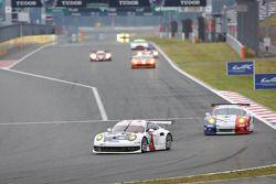 #92 Porsche AG Team Manthey Porsche 911 RSR: Marc Lieb, Richard Lietz