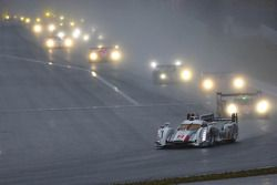 El #2 Audi Sport Team Joest Audio R18 e-tron quattro: Tom Kristensen, Loic Duval, Allan McNish