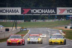 Largada: #31 NGT Motorsport Porsche 911 GT3 Cup: Nicolas Armindo, Christina Nielsen, Angel Andres Be