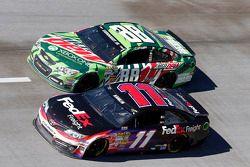 Denny Hamlin and Dale Earnhardt Jr.