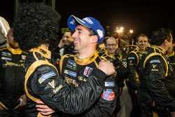 P1 and overall race winner Neel Jani celebrates