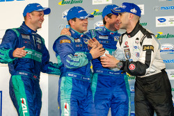 Class winners podium: Bryan Sellers, Wolf Henzler, Nick Tandy, Marino Franchitti
