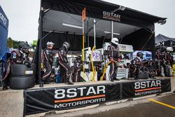 8Star Motorsports team members ready for pit stop