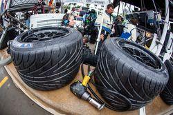 Chuva pneus ready to go