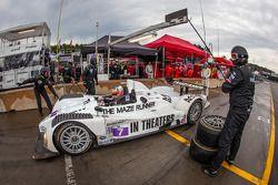 Pit stop #7 BAR 1 Motorsports Oreca FLM09 Oreca: Rusty Mitchell, Tomy Drissi, James French