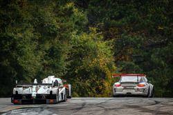 #9 RSR Racing Oreca FLM09 Oreca: Bruno Junqueira, Duncan Ende, Gustavo Menezes, #0 DeltaWing Racing