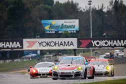 #44 Flying Lizard Motorsports Porsche 911 GT3 Cup: Seth Neiman, Dion von Moltke, Brett Sandberg