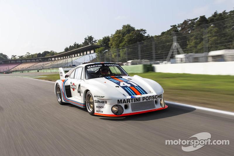 El Porsche 935/77 ganador de las 24h de Le Mans de 1976 en la actualidad