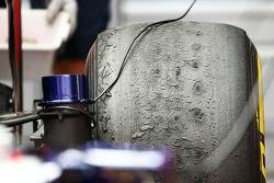 Worn Pirelli lastiğis, Red Bull Racing RB9