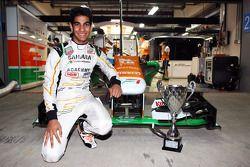 Jehan Daruvala, Sahara Force India Academy Driver, winner of the British KF3 Karting Championship